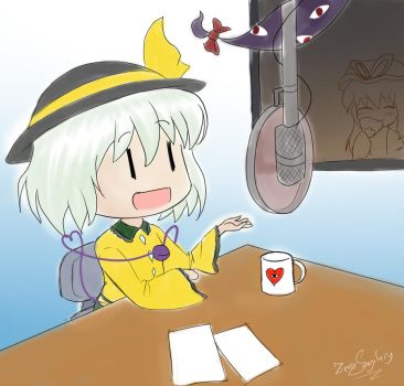 Koishi in the Radio by Zero2018