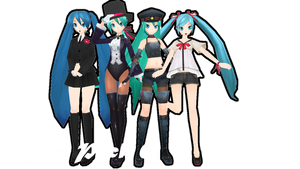 Miku Pack 6 Download by AlexIsDeadddx