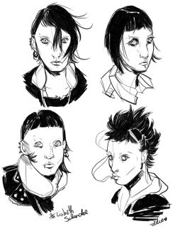 Lisbeth Salander  by oldiearte