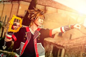 Sora Kingdom Hearts 3 by Misch.Axel by MischAxel