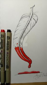 Playing around with pens 2 by Chili-jr