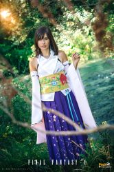 Yuna (FFX): I'm listening for your whistle. by DidsRainfall