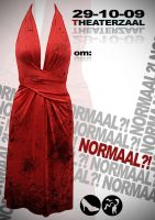 'Normaal' theatre poster. by WillemWorks