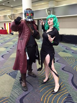Tornado and Starlord - MegaCon 2016 by GildedMoon