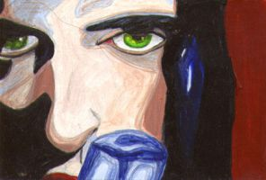 Peter Steele by plutoniancrow