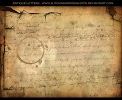 Antique Letters by AutumnsGoddess-stox