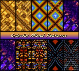 Colorful Mixed Patterns by allison731