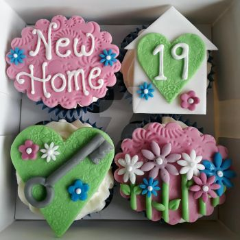New Home Cupcakes by clvmoore