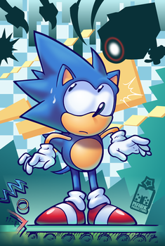 'F...Friends?'   [SONIC MANIA] by MarkProductions