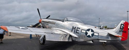 P-51D Parked by spcefrk