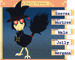 PKMNA - Meet Reeves the Murkrow! by Powerwing-Amber