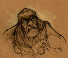 Conan the Barbarian by DenisM79