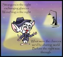 Strangers in the night by Lilostitchfan