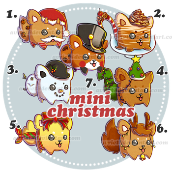 [OPEN] Adoptable 3 : Mini Christmas by Avriet