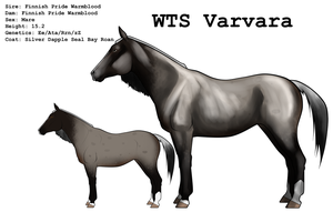 WTS Varvara by lionsilverwolf
