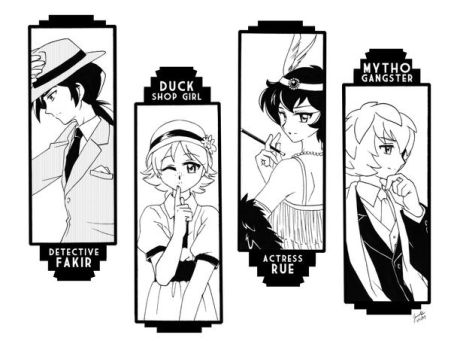 Roaring 20's: PT style by Mangaka-chan