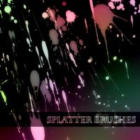 Splatter Brushes by stephieg24