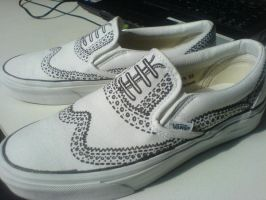 My Own Marc Jacob Vans by DaniLen