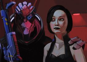 And this is my Favorite Couple in the Galaxy by devillo