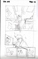 The End Issue 1 - 'Id' Page 3 Pencil by thescarletspider