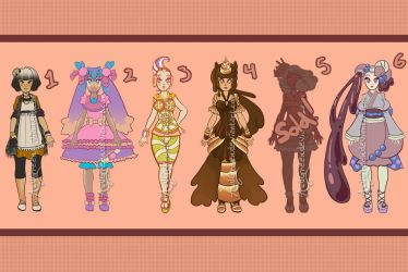 ADOPTABLES! Japanese Sweets Set [Open:Price Slash] by AudGreen