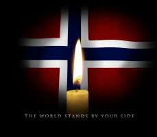 A candle for Norway by RockLou