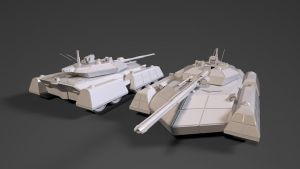 M-80D Paladin Super Heavy Assault Tank by planetrix15