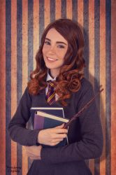 Hermione Granger Cosplay by WhiteSpringPro