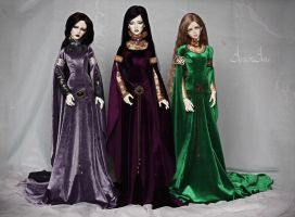 The Elven Maidens 2 by AyuAna