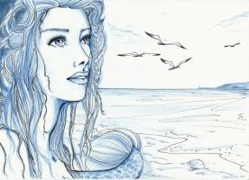Sirena - Speed drawing by SilviaDiMauro