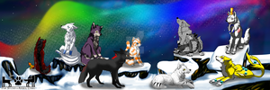 The Nine Long-tail of PAW STUDIO by COMMANDER--WOLFE