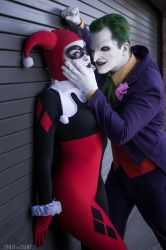 Joker and Harley Quinn by Enasni-V
