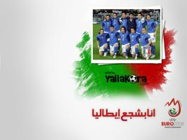 Italy in Euro 2008 by amrtalaat