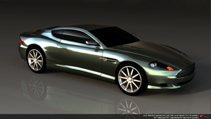 Aston Martin DB9 restyled by koleos33