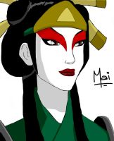 Kyoshi Mai- Colored by raven102292