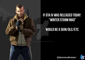 GTA Joke about Winter Storm Niko by lawrencebrenner