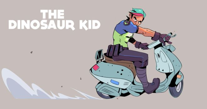 The Dinosaur Kid! by red--fox