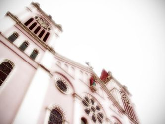 Baguio Cathedral by charmarushka