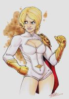 Marker PowerGirl by KidNotorious