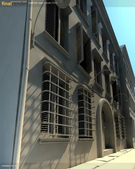 windowed alley WIP by adhii