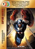Captain America Special - Star-Spangled Avenger by overpower-3rd