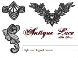 Antique Lace Set Four by surfing-ant