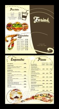 FARINA - MARCA + CARTA MENU by JoseMiguelK