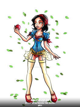 SEXY SNOW WHITE by gonziengfiao