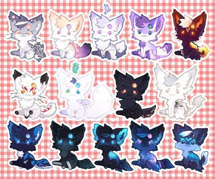 Kittoms Batch 3 by miaow