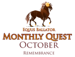 Monthly Quest - October by EquusBallatorSociety