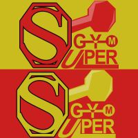 SuperGYM Logo by AHDesigner