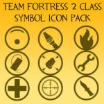 Team Fortress 2 icon pack 1 by Captain-Nintendork