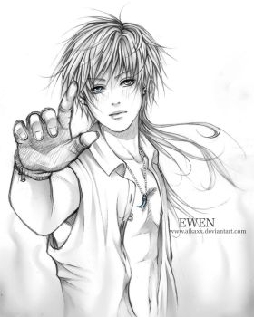 Ewen sketch by AikaXx