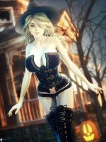 Witch of the Day Day 17 by LaMuserie